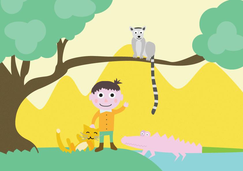À Madagascar, jadis., Une histoire pour enfant à lire sur Goupili