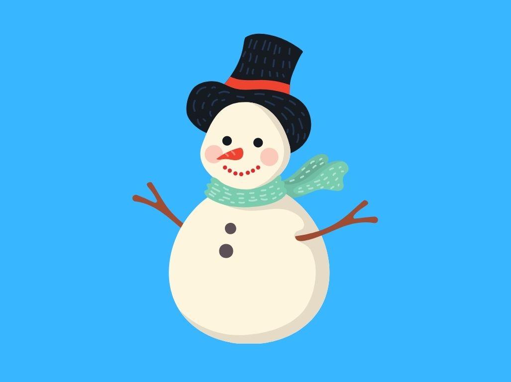 Dans le corps d'un bonhomme de neige, Une histoire pour enfant à lire sur Goupili