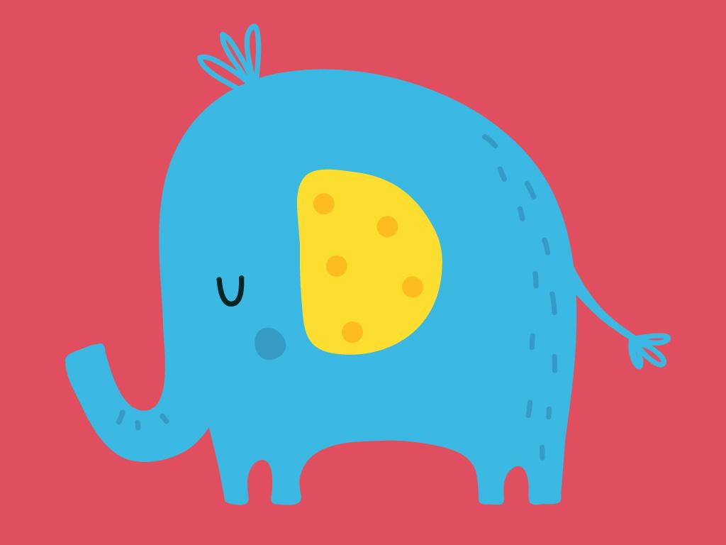 Un éléphant qui se balançait, Une histoire pour enfant à lire sur Goupili