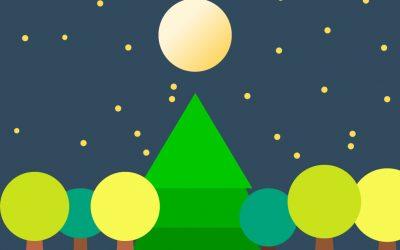 La grande fête des arbres de la forêt