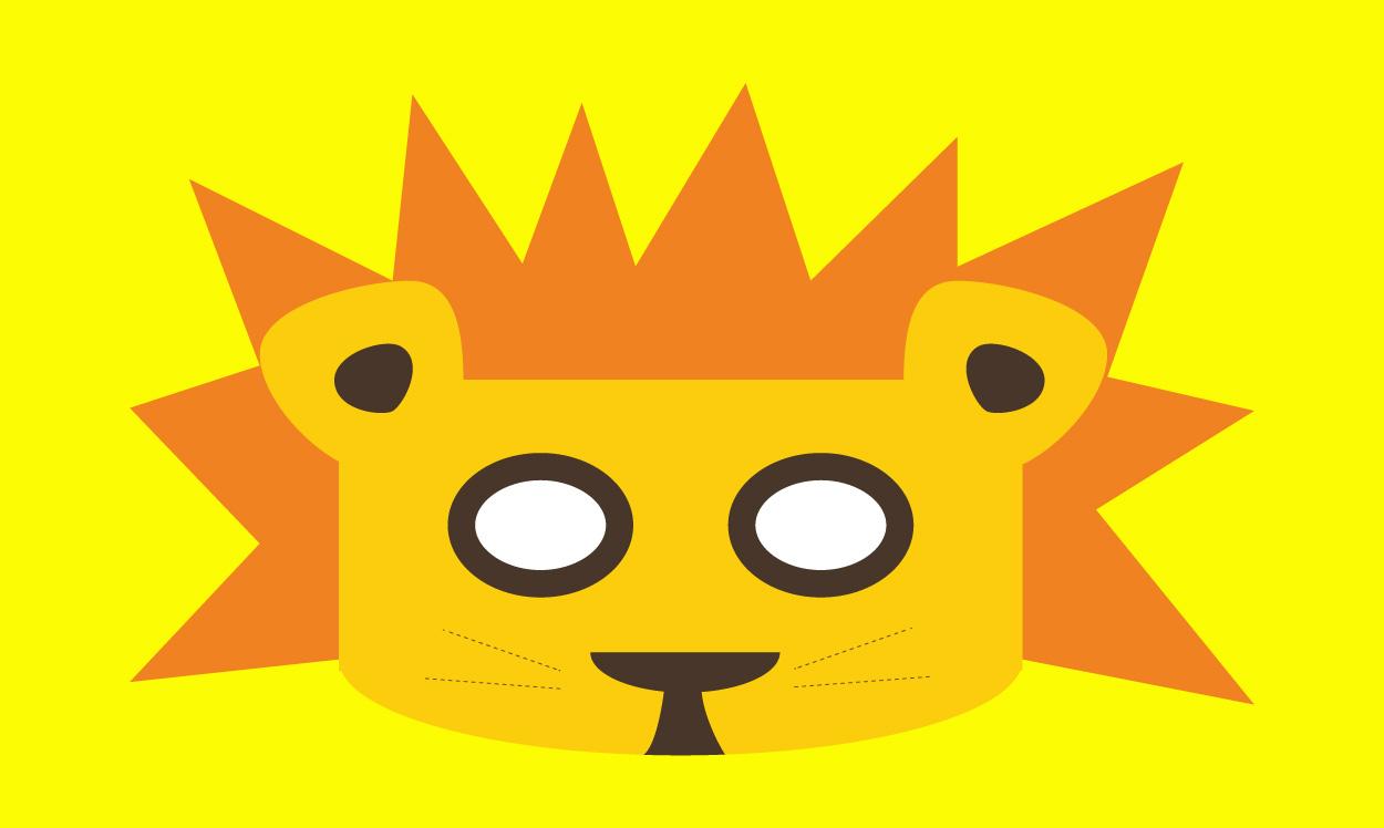 Le masque lion, Une histoire pour enfant à lire sur Goupili