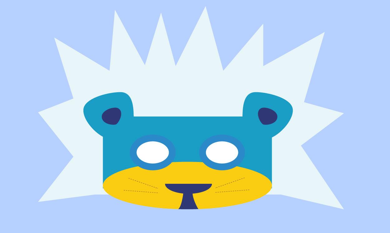 Le masque lion des neiges, Une histoire pour enfant à lire sur Goupili