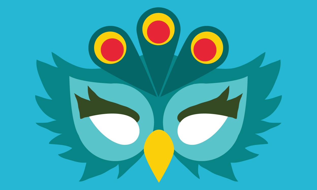 Le masque paon, Une histoire pour enfant à lire sur Goupili