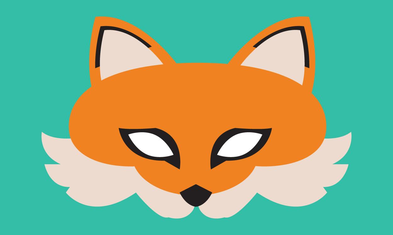 Le masque de renard, Une histoire pour enfant à lire sur Goupili