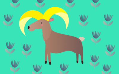 Stella et le mouflon aux cornes d'or