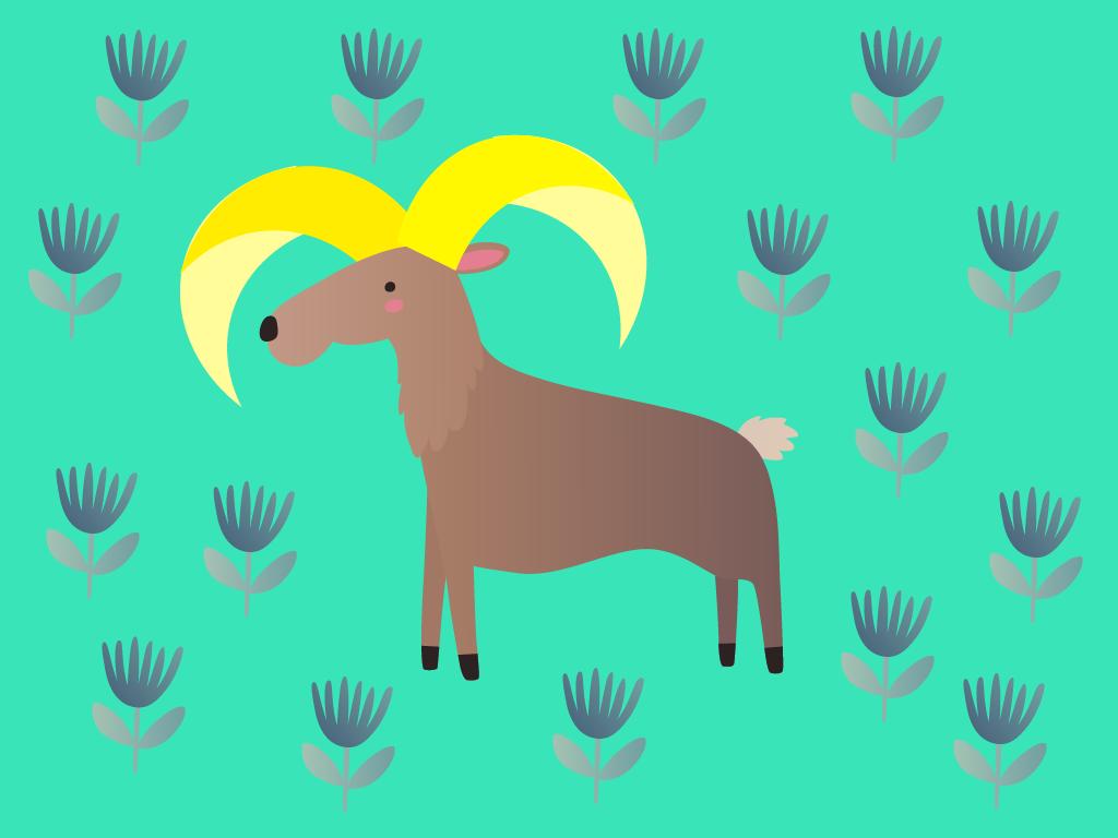 Stella et le mouflon aux cornes d'or, Une histoire pour enfant à lire sur Goupili