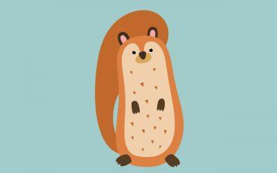 Royo l'écureuil étourdi
